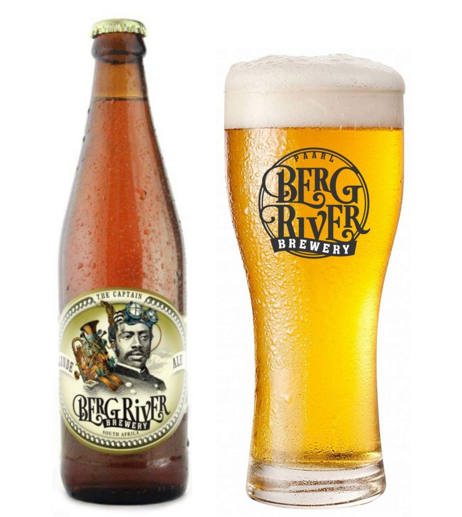The Captain Blonde Ale produced a Berg River Brewery