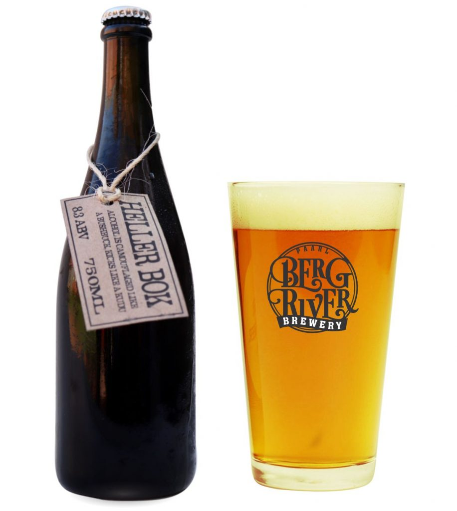 Heller Bok produced by berg river brewery