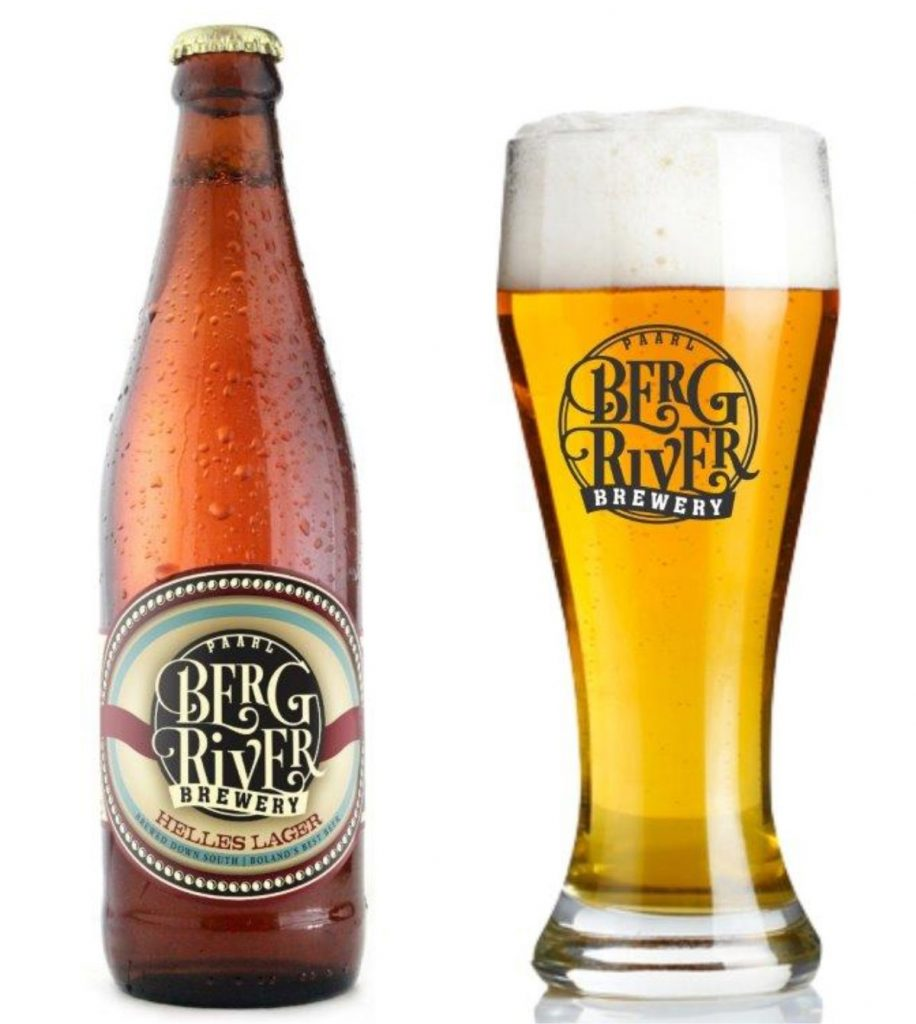 The Helles Lager Crafted at Berg River Brewery