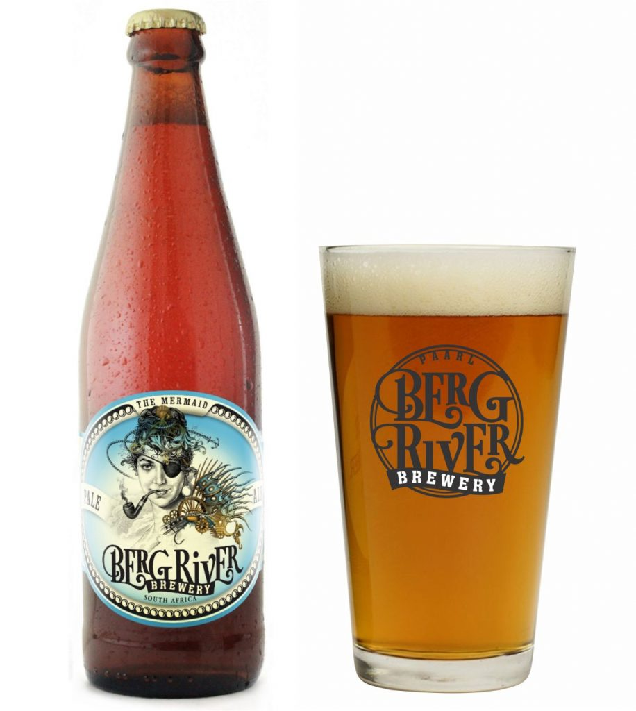 The Mermaid Pale Ale crafted at Berg River Brewery