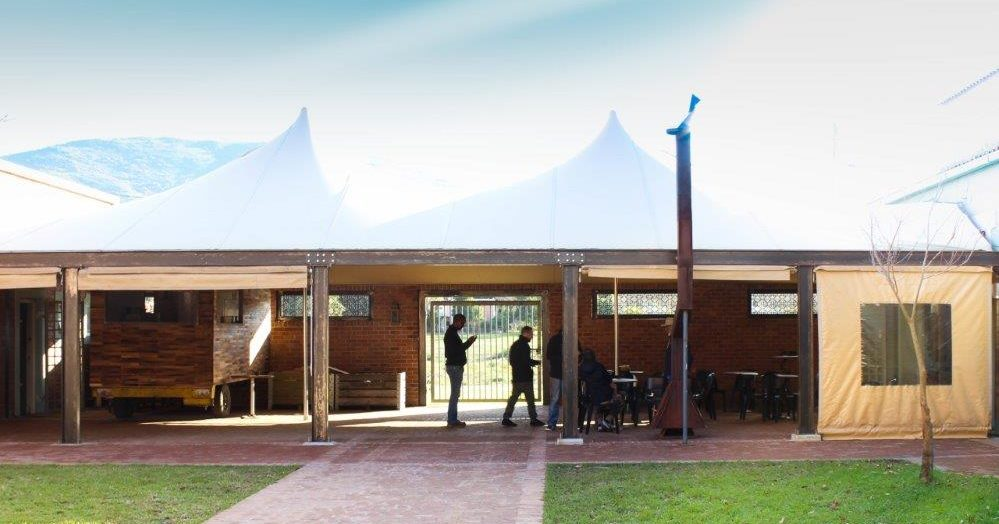Hire the venue at berg river brewery, paarl. for live music, large gatherings and even open-air dance events. The courtyard includes a protected undercover area.