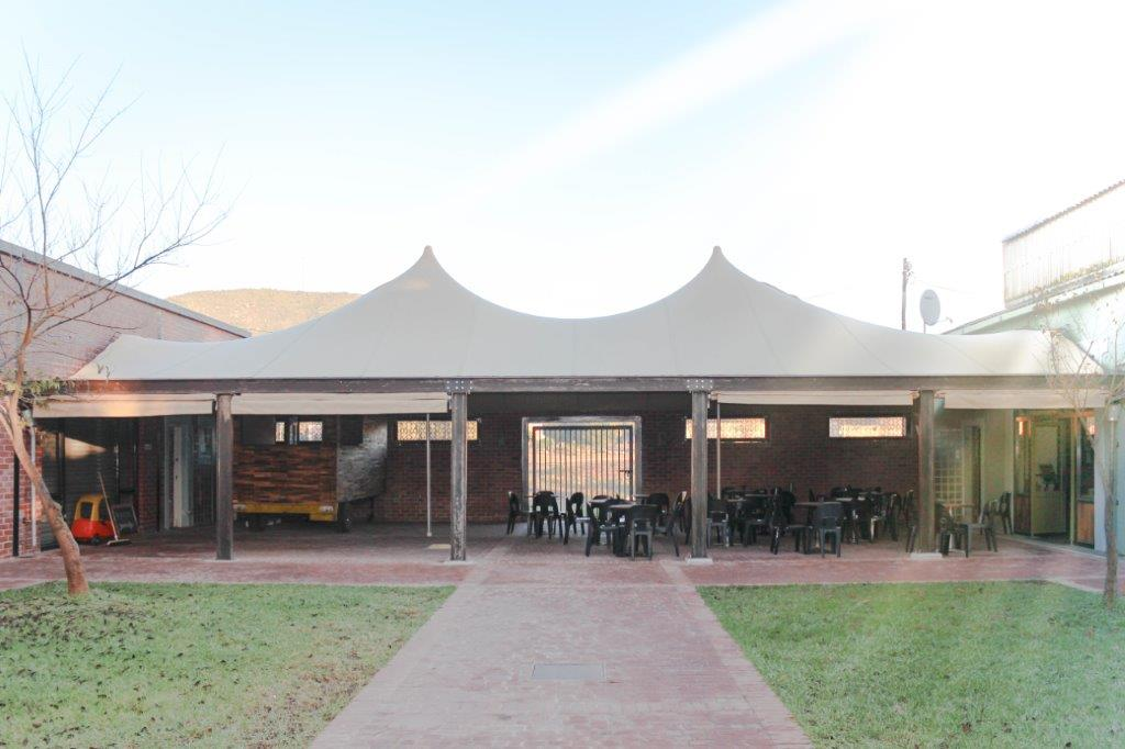 Undercover at the courtyard, berg river brewery, paarl. for live music, large gatherings and even open-air dance events. The courtyard includes a protected undercover area.