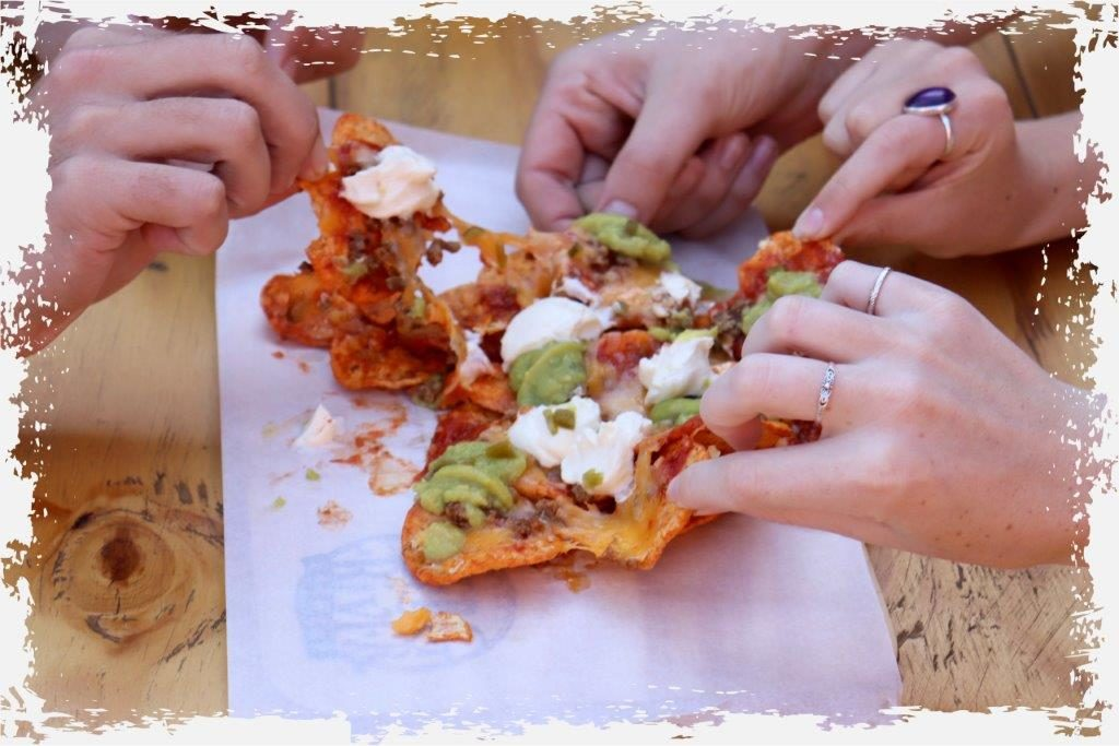 Top-Notch Nachos served hot from our food truck, Berg River Brewery's cold craft beers, fabulous company, it'll have you coming back time and time again.