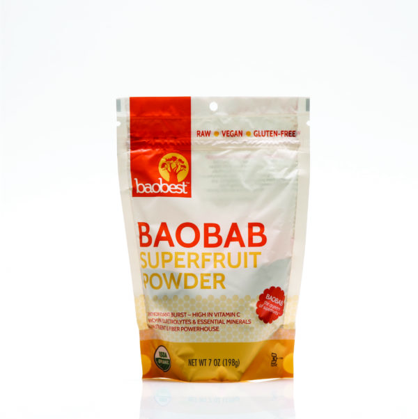 Baobab Super Fruit Powder available on the Berg river brewery online store