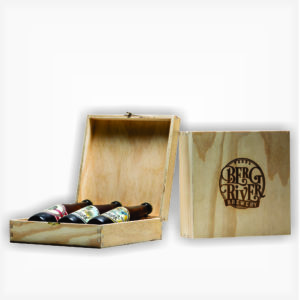 Wooden Case available on the Berg River Brewery Online Store